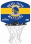 Preview: Spalding Mini-Basketballkorb-Set NBA Golden State Warriors