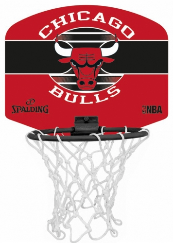 Spalding Mini Basketballkorb Set NBA Chicago Bulls