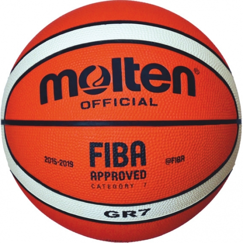 Molten Basketball FIBA Official Orange/Ivory Gr. 7