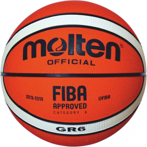 Molten Basketball FIBA Official Orange/Ivory Gr. 6